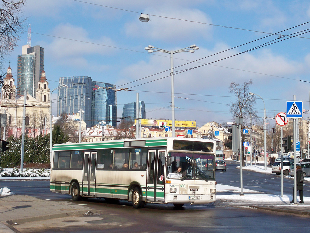 Lithuania, MAN SL202 # CGJ 167
