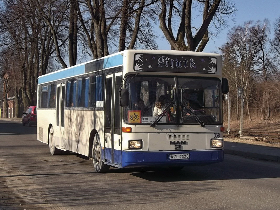 Lithuania, MAN SL202 # 058