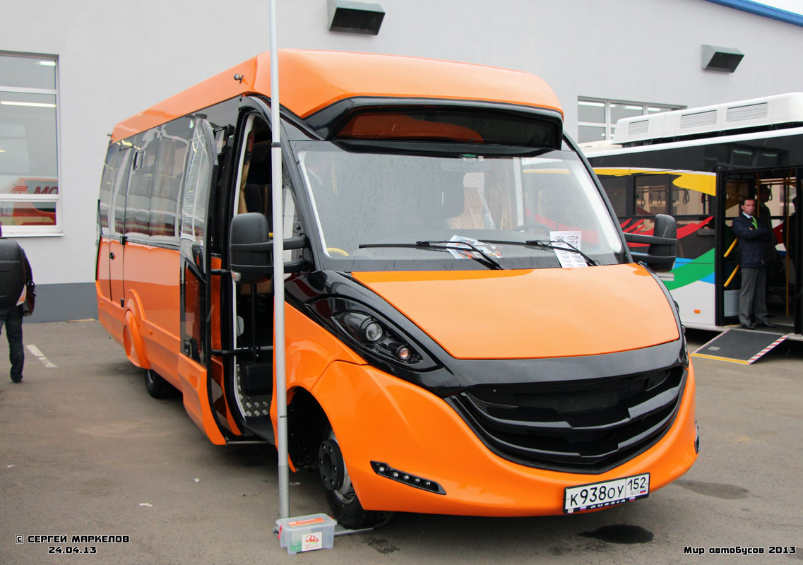 "Moscow region, FOX-2250 # К 938 ОУ 152; Moscow region — Autotransport festival ""World of buses 2013"""