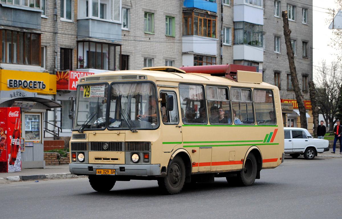 Bryansk region, PAZ-32053 (30, E0, C0, B0) # АВ 329 32