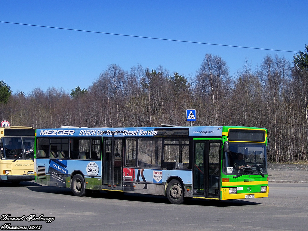 Murmansk region, Mercedes-Benz O405N2 # О 127 МО 51