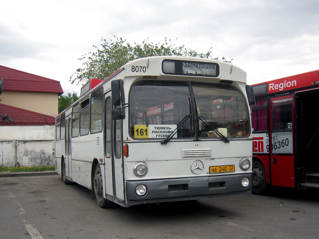 Tumen region, Mercedes-Benz O305 # АЕ 240 72