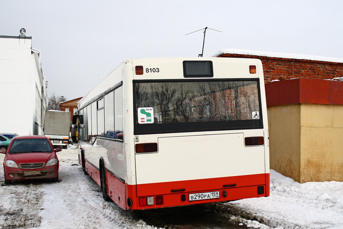 Perm region, Mercedes-Benz O405N2 # В 290 РА 159