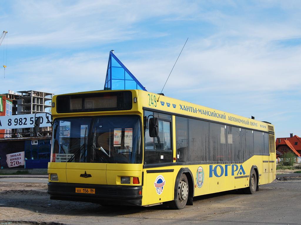 Ханты-Мансийский АО, МАЗ-103.075 № 249