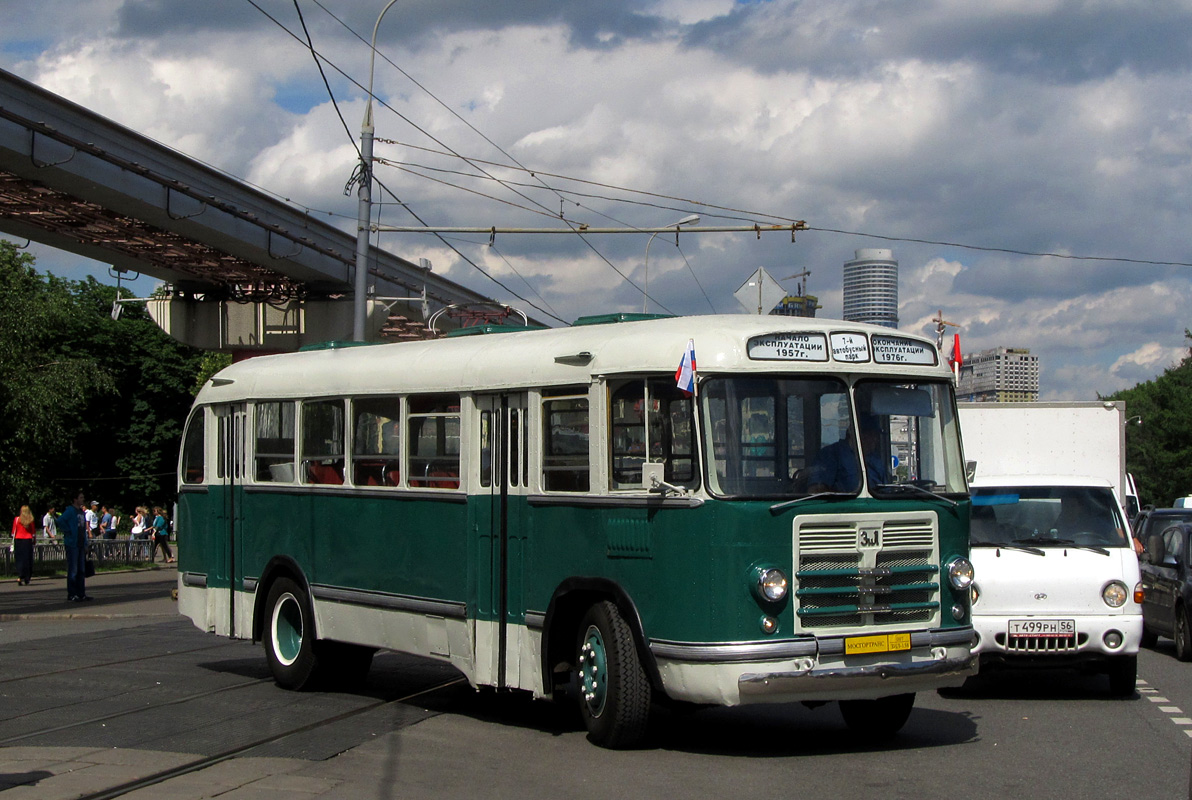 Moscow, ZiL-158 # 007