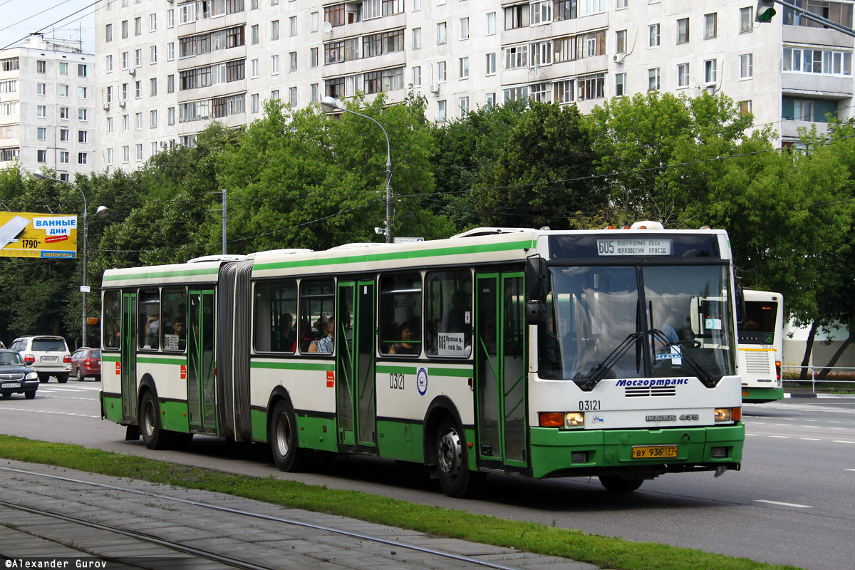 Moscow, Ikarus 435.17 # 03121
