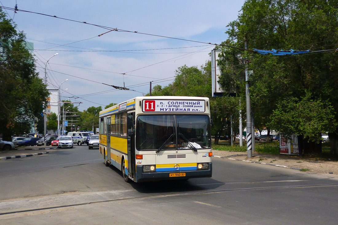 Saratov region, Mercedes-Benz O405 # АТ 940 64