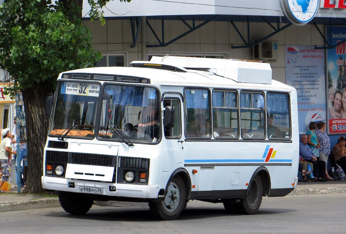 Stavropol region, PAZ-32054 (40, K0, H0, L0) # В 998 РО 26