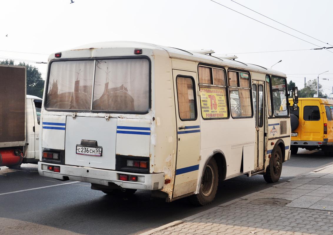 Omsk region, PAZ-32053-07 (3R, ER, CR) # С 236 СН 55