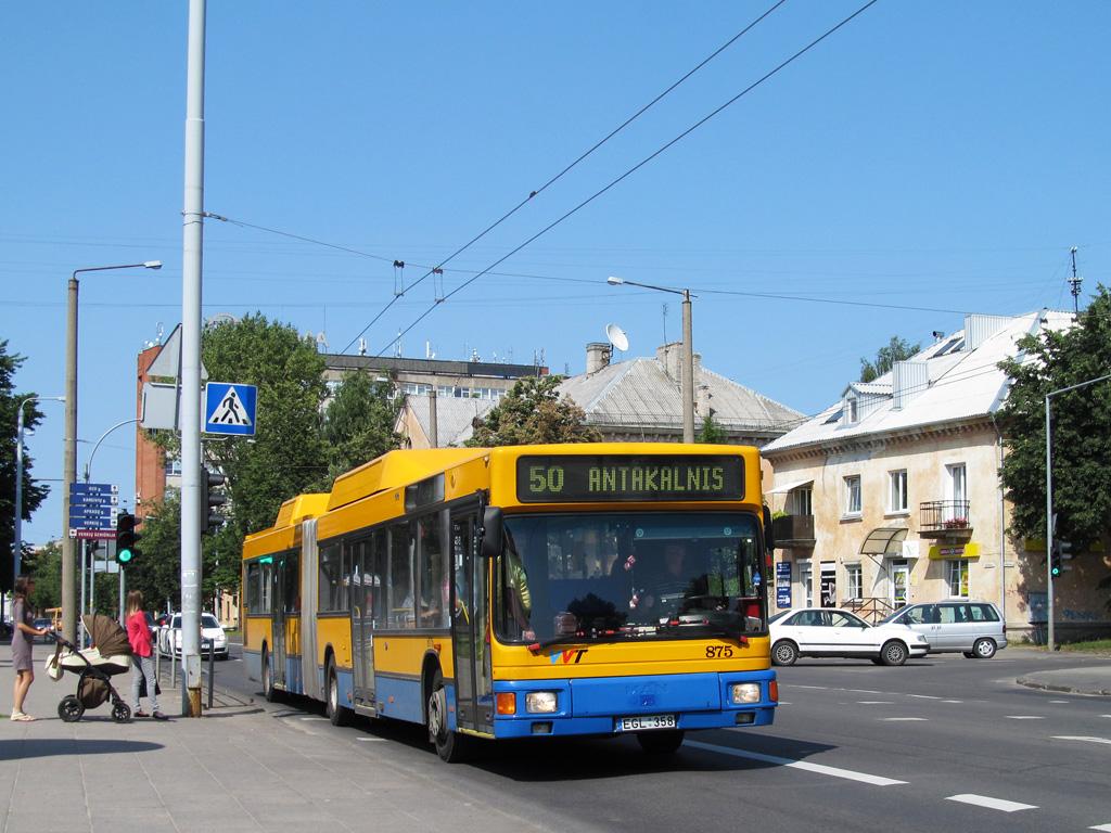 Lithuania, MAN A18 NG232 CNG # 875
