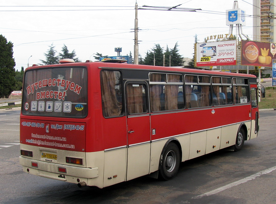 Republic of Crimea, Ikarus 256.54 # АК 5180 АА