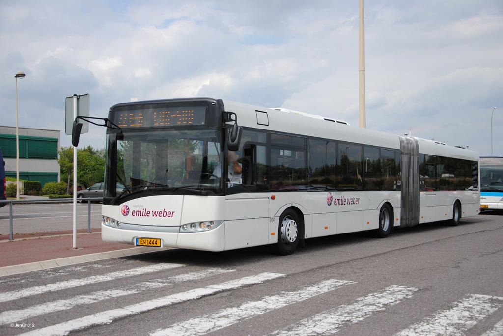 Luxembourg, Solaris Urbino III 18 # 804
