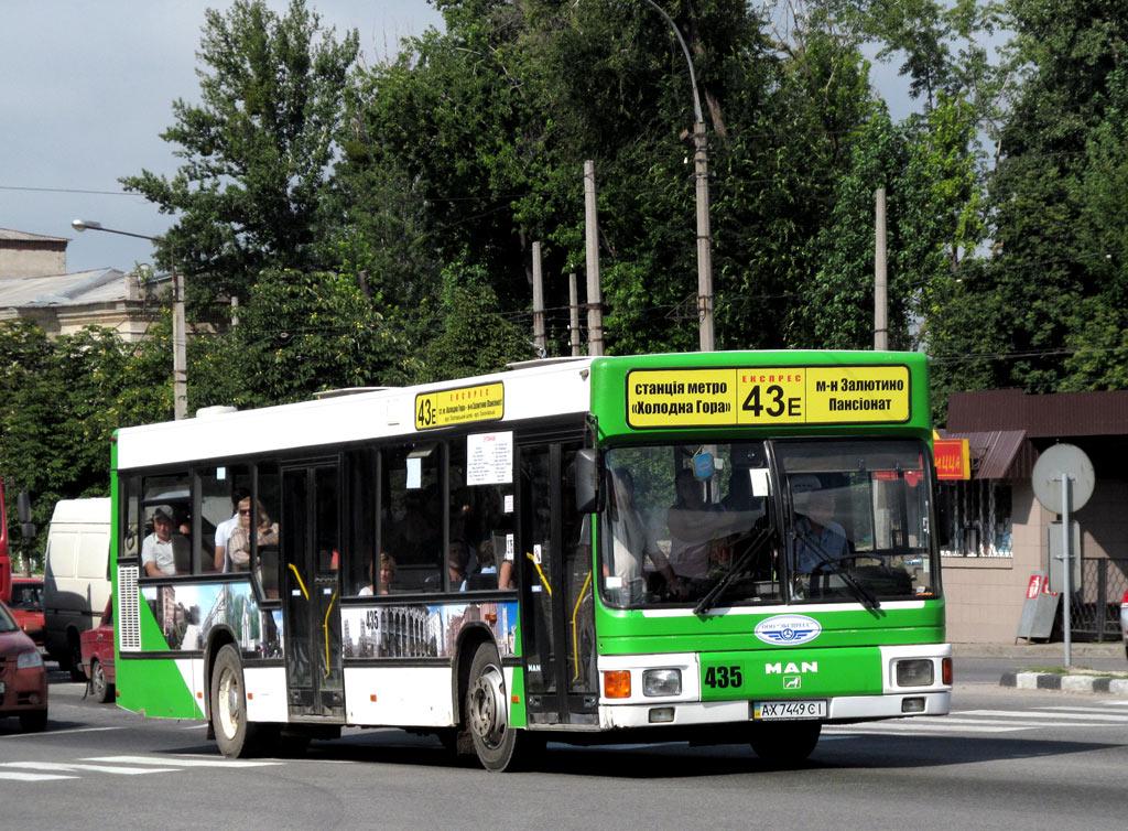 Kharkov region, MAN A10 NL222 # 435