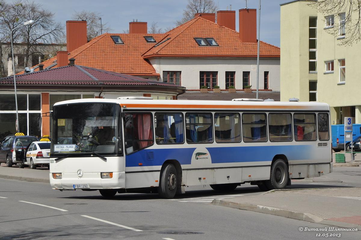 Lithuania, Mercedes-Benz Türk O345Ü # 101