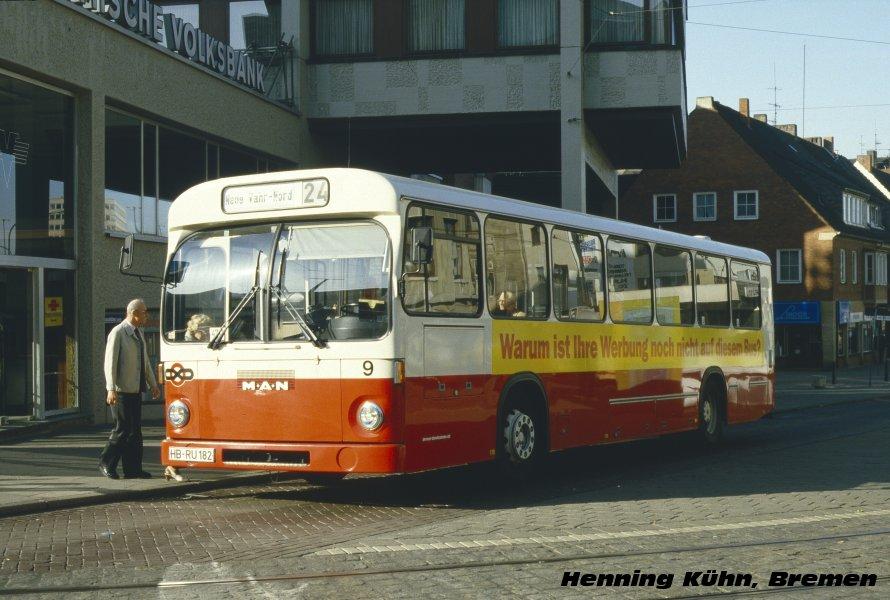 Germany, MAN SL200 # 9