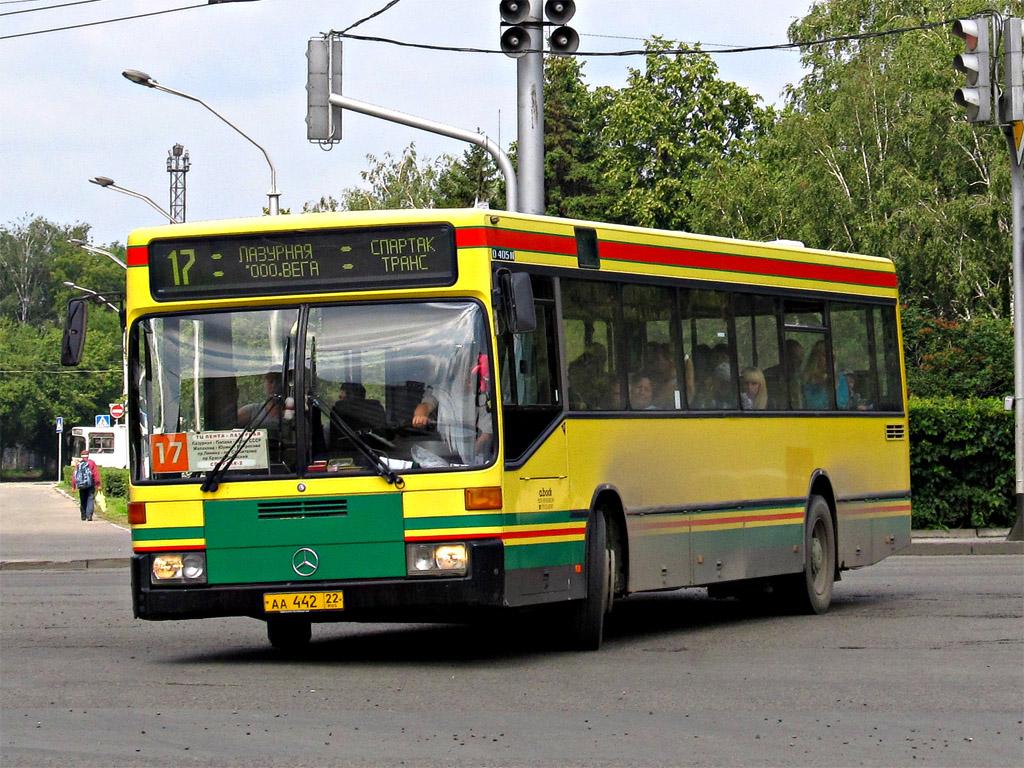 Altayskiy kray, Mercedes-Benz O405N # АА 442 22