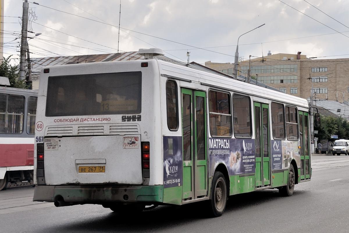 Тульская область, ЛиАЗ-5256.45 № 567