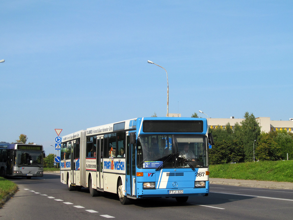 Lithuania, Mercedes-Benz O405G # 267