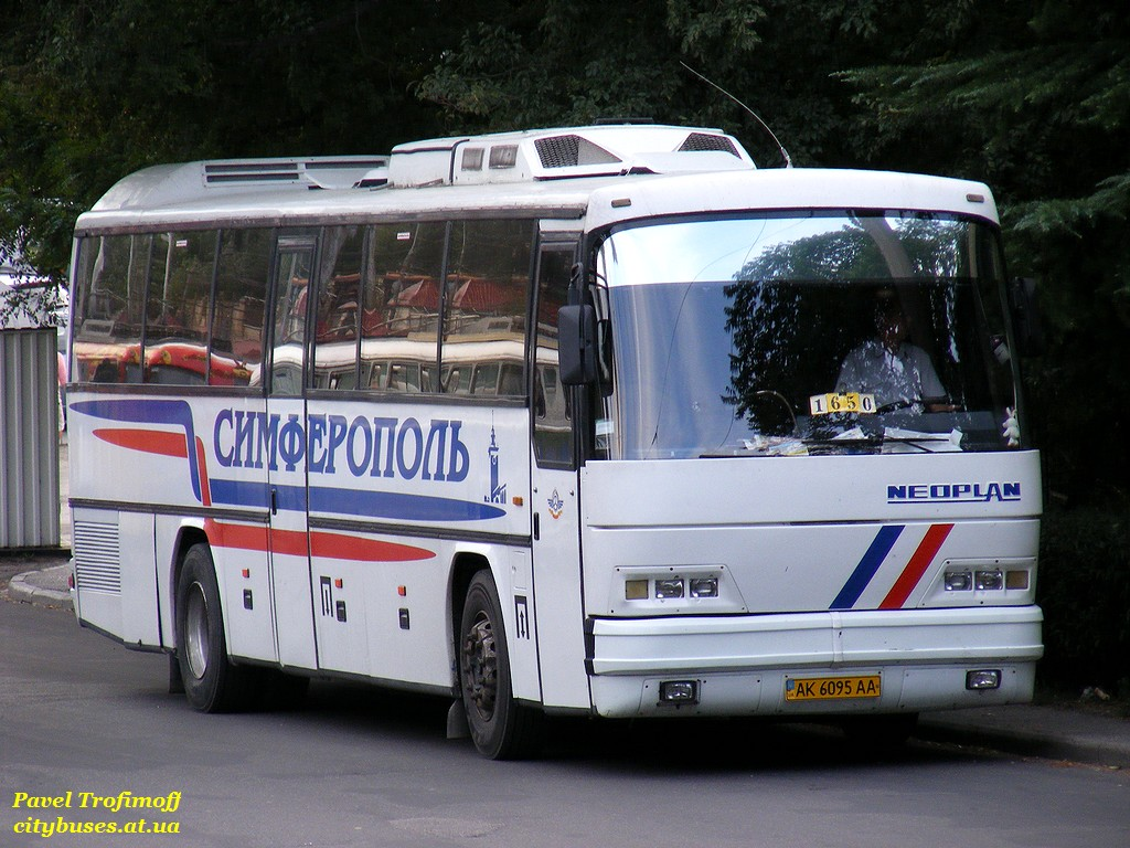 Republic of Crimea, Neoplan N316K Transliner # AK 6095 AA