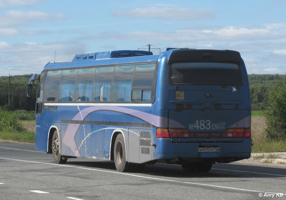 Tatarstan, Kia Granbird # М 483 ЕМ 116