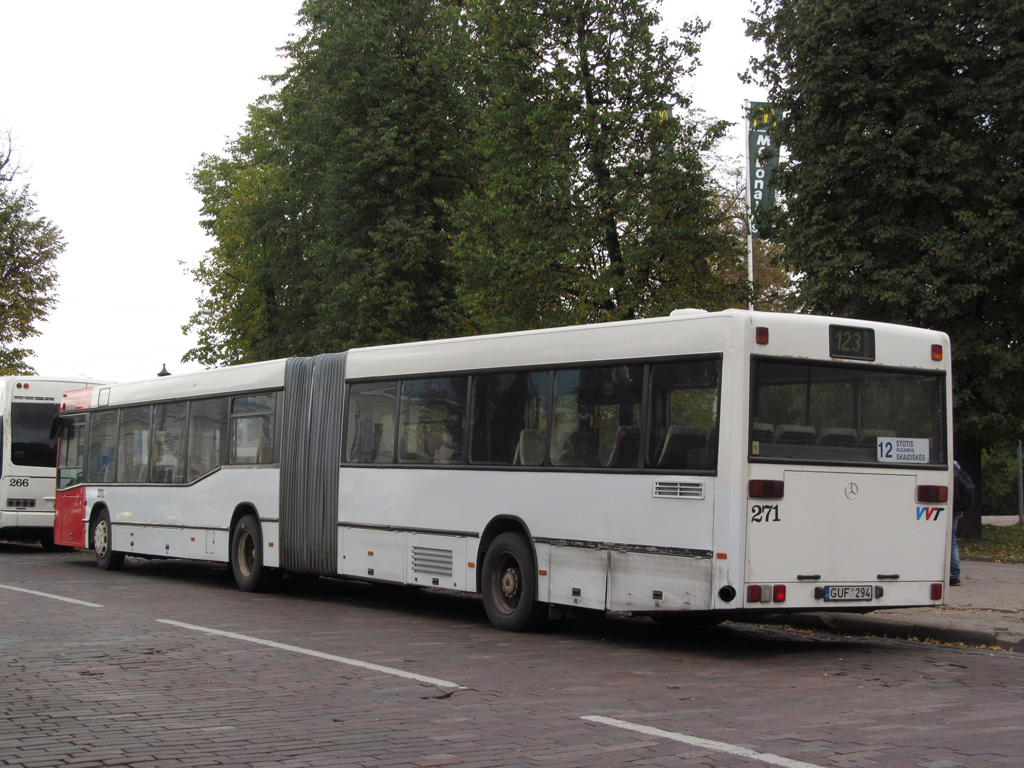 Lithuania, Mercedes-Benz O405GN2 # 271