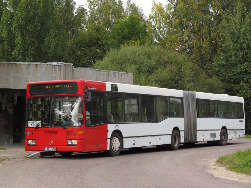 Lithuania, Mercedes-Benz O405GN2 # 271