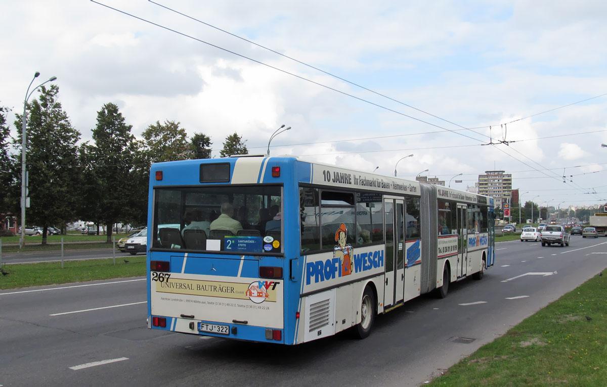 Lithuania, Mercedes-Benz O405G # 267