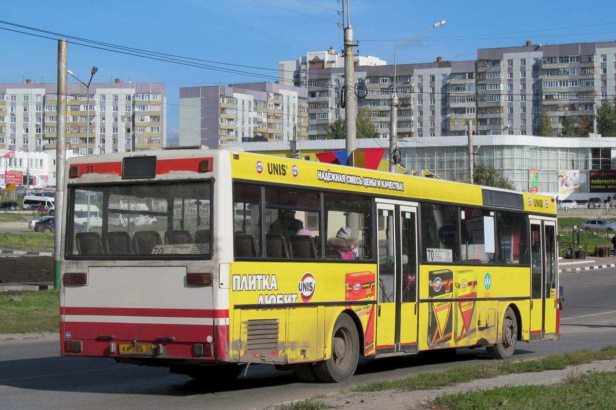 Penza region, Mercedes-Benz O405 # АУ 785 58