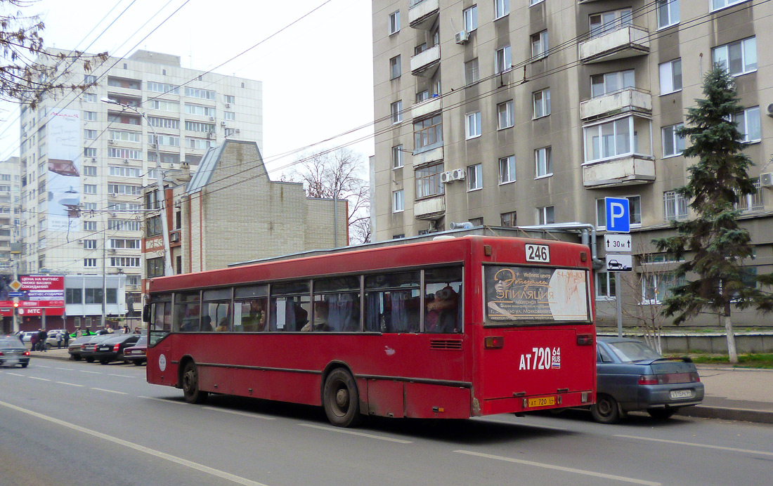 Saratov region, Mercedes-Benz O405N # АТ 720 64
