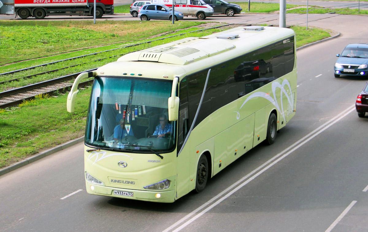 Oryol region, King Long XMQ6127C # Н 933 РА 57