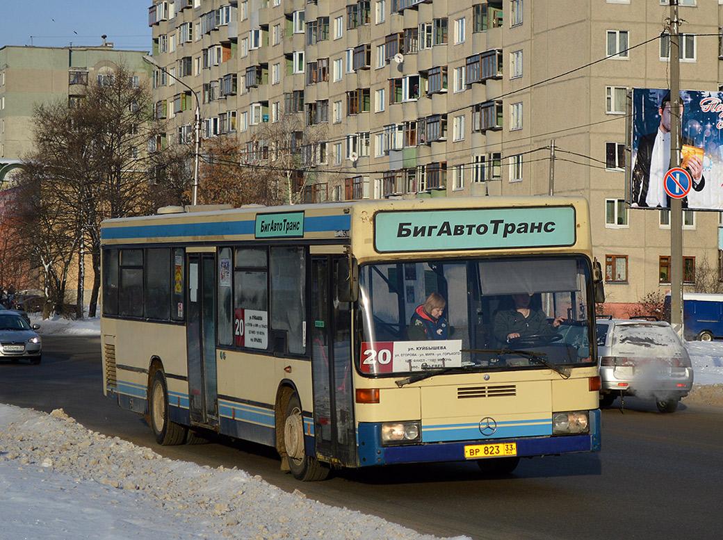 Vladimir region, Mercedes-Benz O405N2 # ВР 823 33