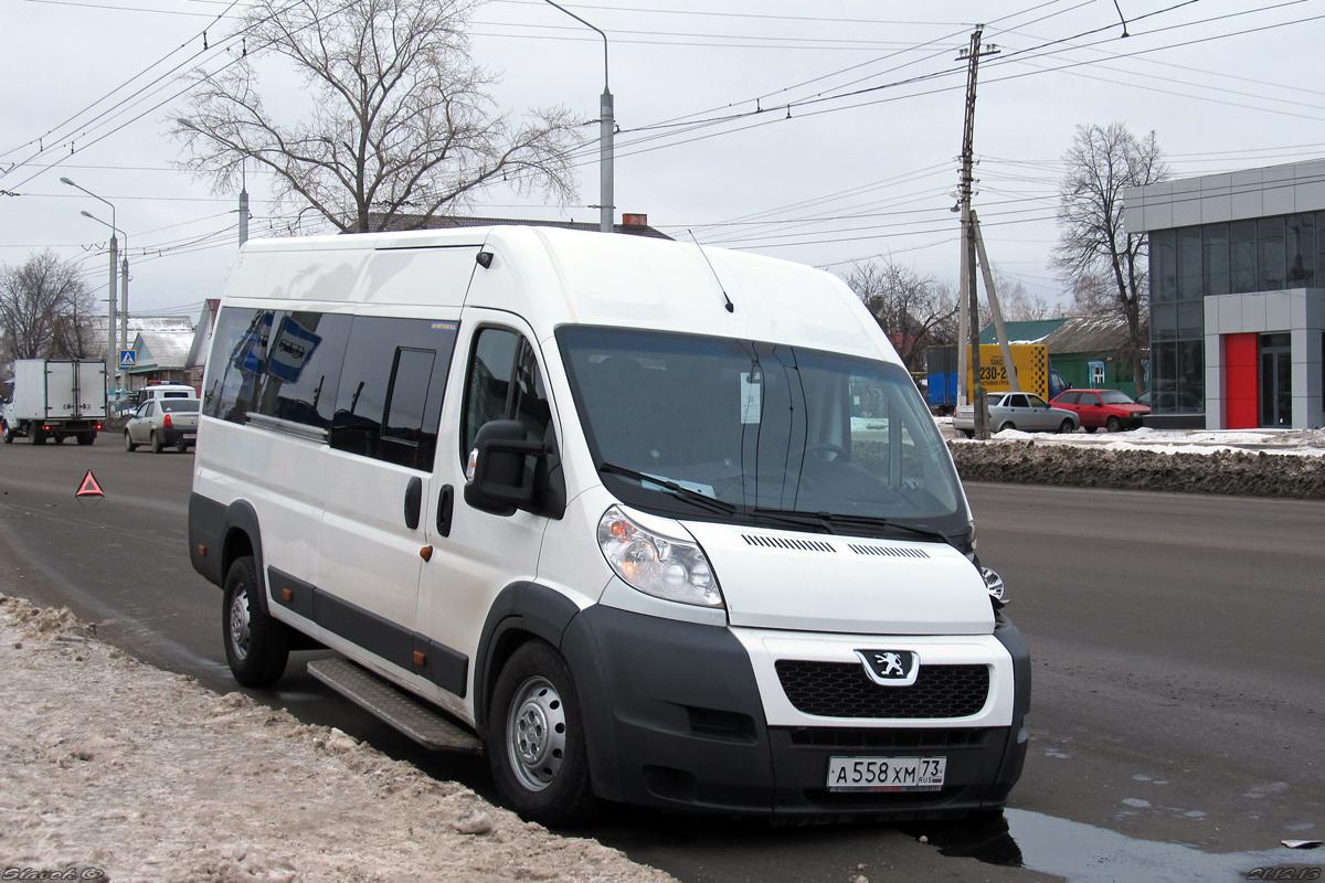 Ulyanovsk region, IRITO Boxer L4H2 (Z8P) # А 558 ХМ 73