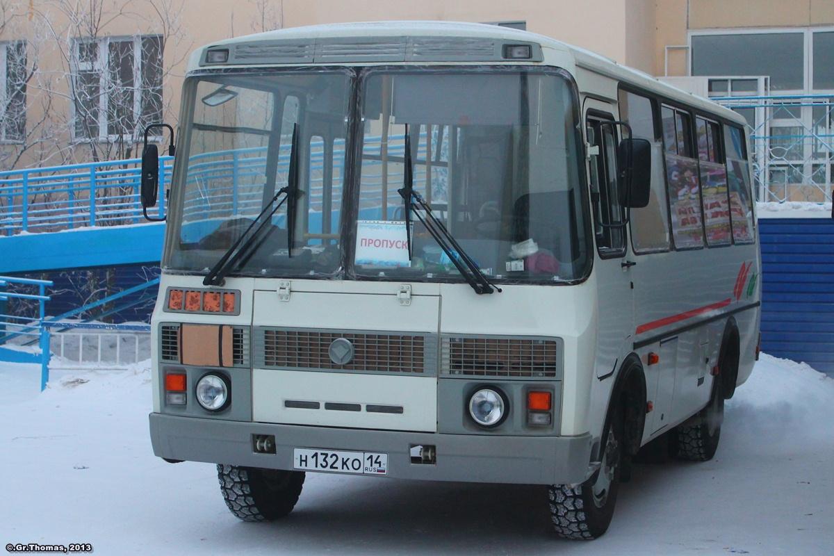 Sakha (Yakutia), PAZ-32054 (40, K0, H0, L0) # Н 132 КО 14
