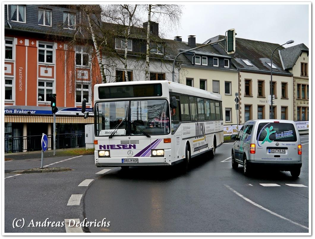 Germany, Mercedes-Benz O405 # DAU-N 608