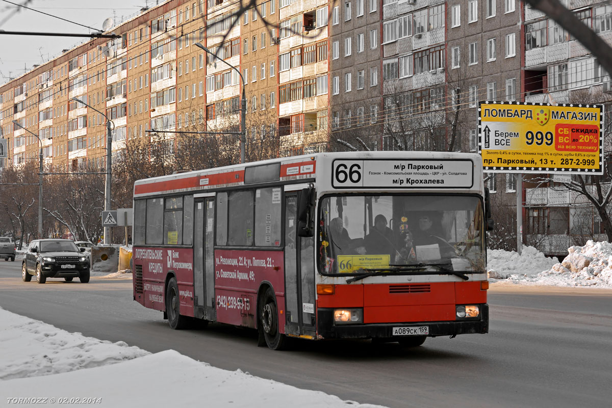 Perm region, Mercedes-Benz O405N # А 089 СК 159