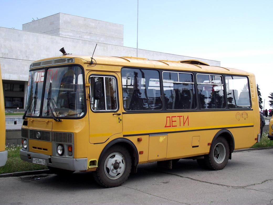 Ulyanovsk region, PAZ-32053-70 (EX, CX, BX) # У 123 ВО 73