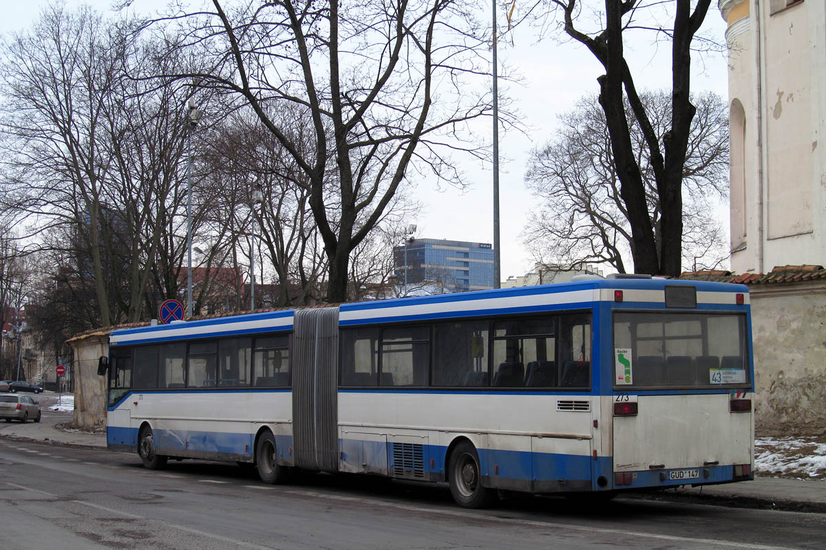 Lithuania, Mercedes-Benz O405G # 273