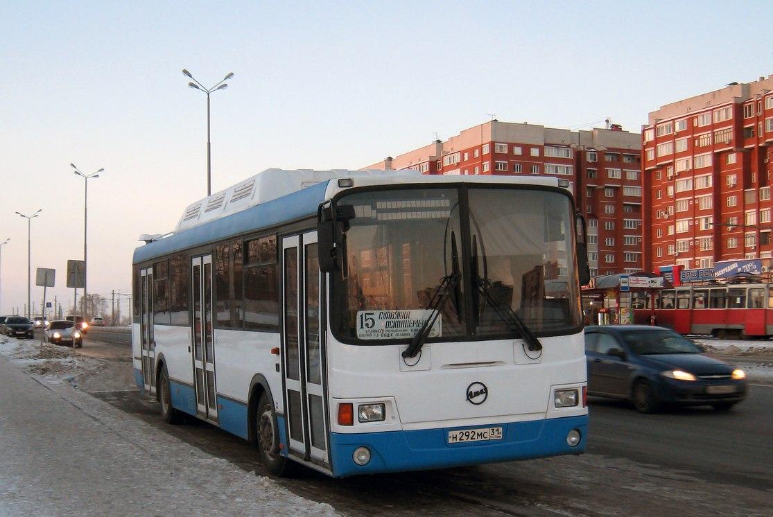 Belgorod region, LiAZ-5256.57 # Н 292 МС 31