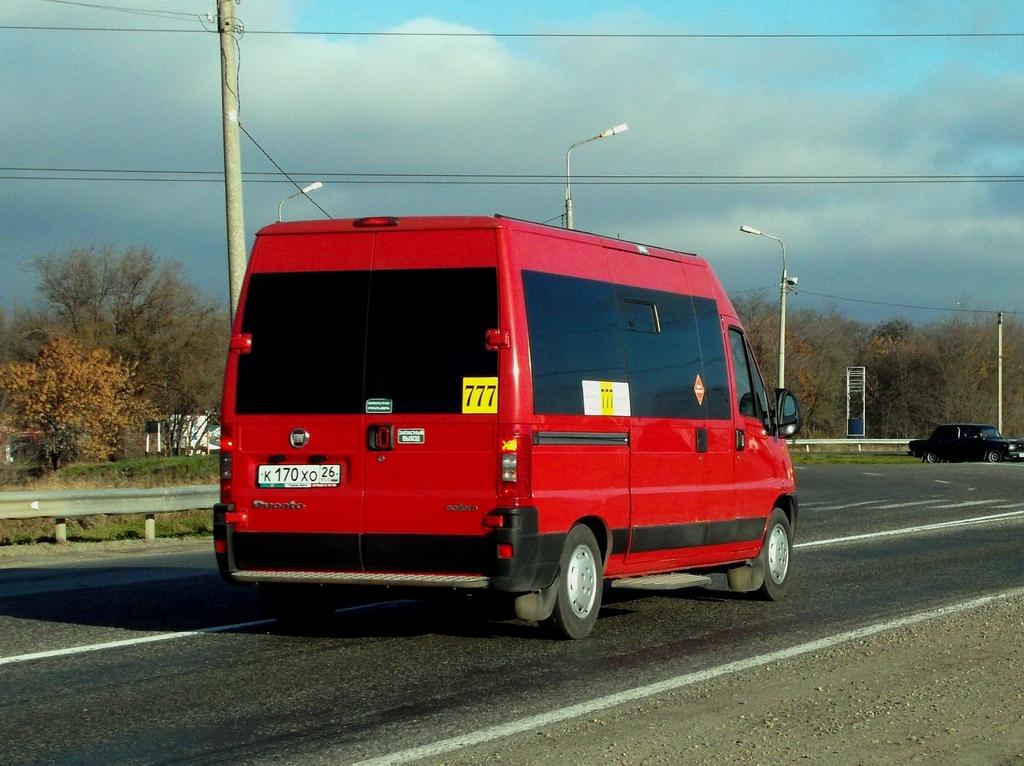 Stavropol region, FIAT Ducato 244 CSMMC, -RT # К 170 ХО 26