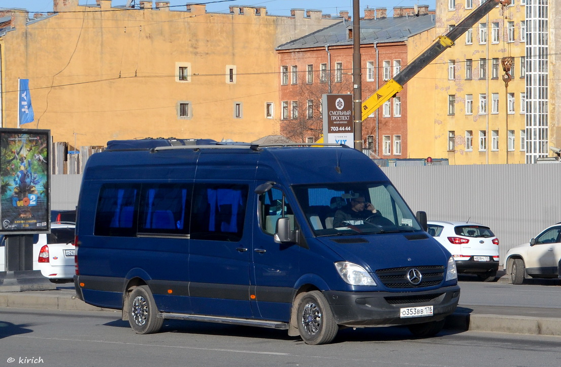 Saint Petersburg, Mercedes-Benz Sprinter 311CDI # О 353 ВВ 178