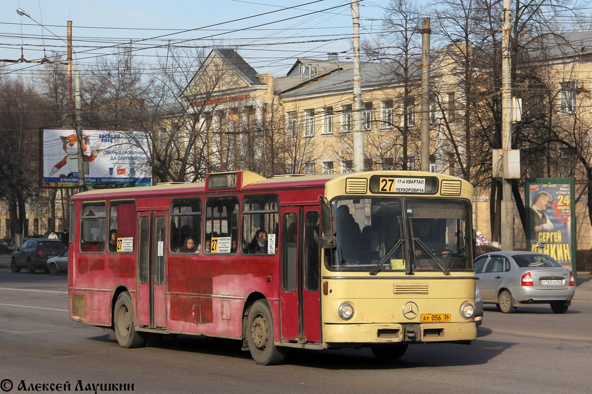 Voronezh region, Mercedes-Benz O305 # АУ 056 36