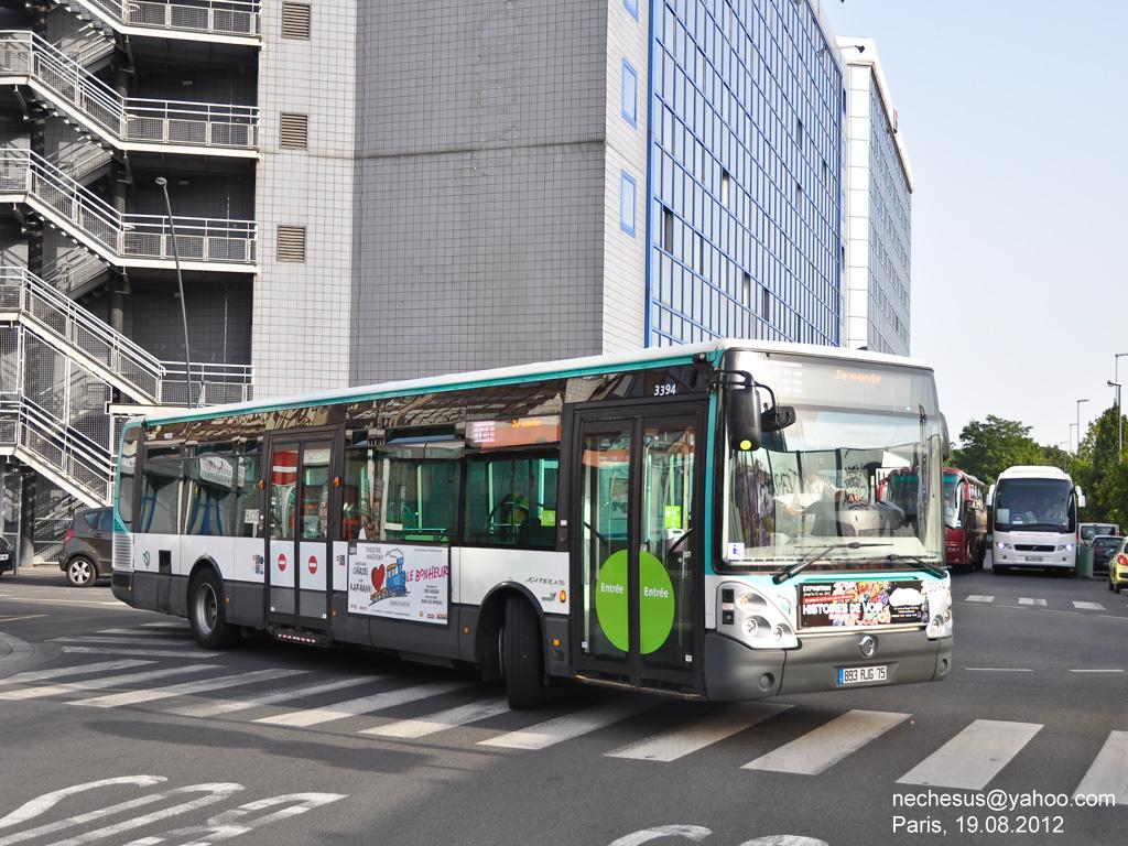 Франция, Irisbus Citelis 12M Line № 3394