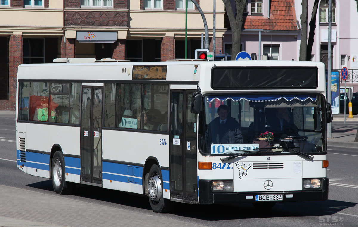 Lithuania, Mercedes-Benz O405N # 84