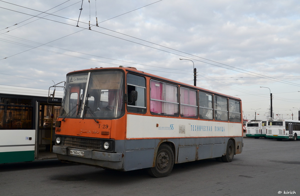 Saint-Petersburg, Ikarus 280.33O # Т-29