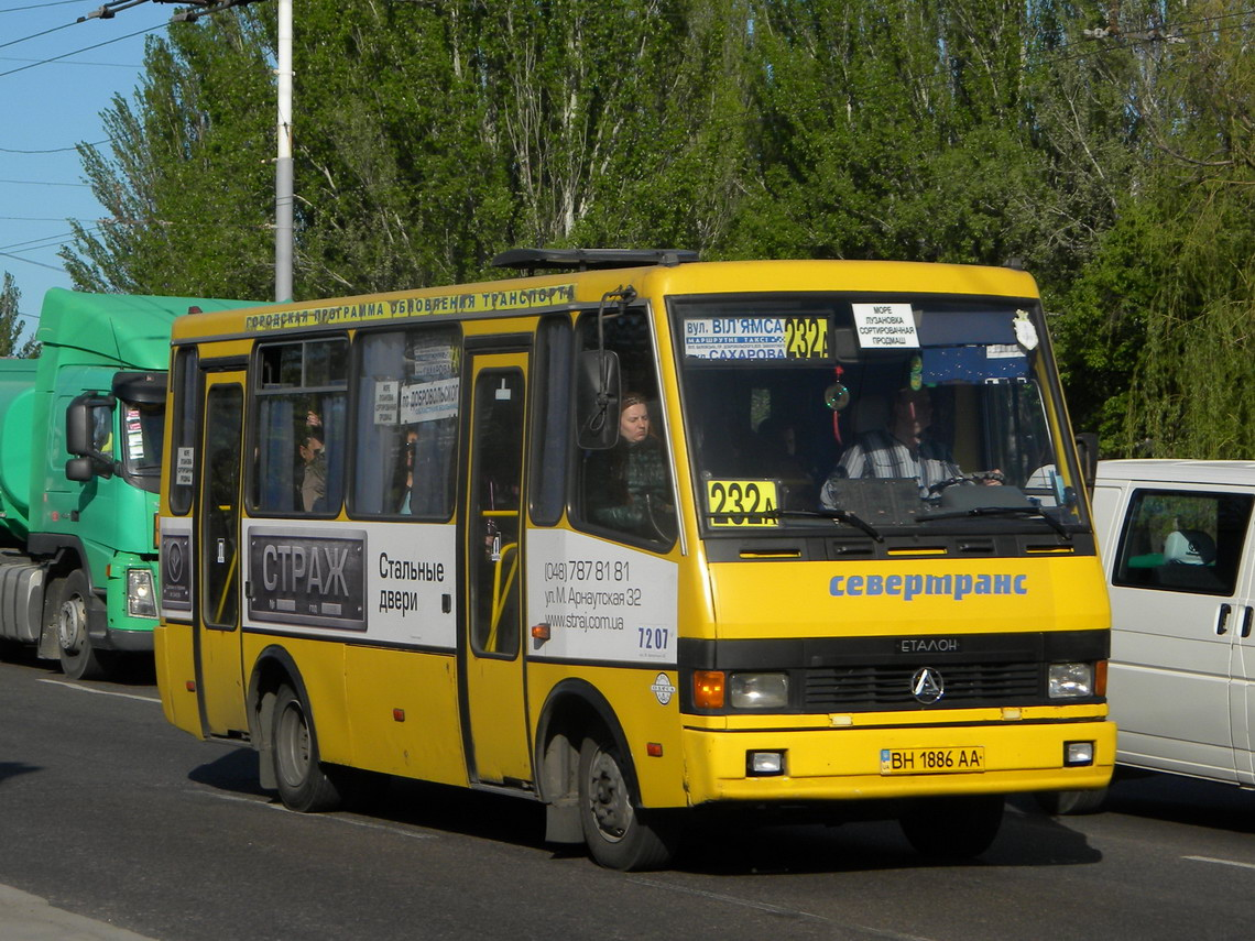 "Odessa region, BAZ-A079.14 ""Prolisok"" # 7207"