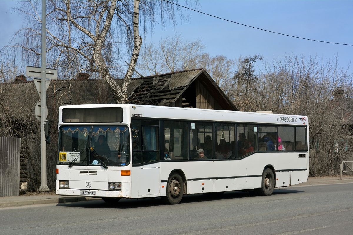 Perm region, Mercedes-Benz O405N2 # Т 827 МО 59