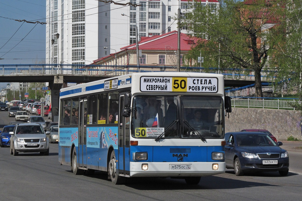 Krasnoyarsk region, MAN SL202 # М 575 ОС 72