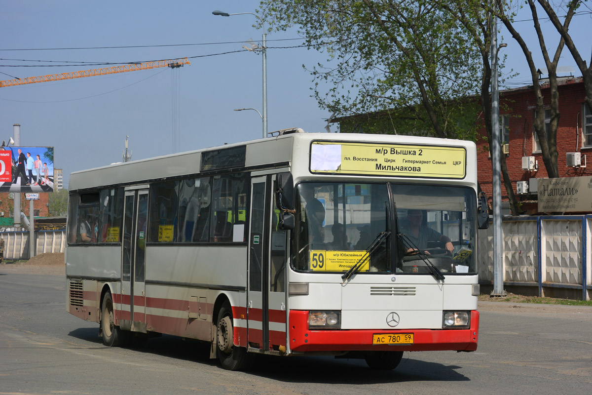 Perm region, Mercedes-Benz O405 # АС 780 59
