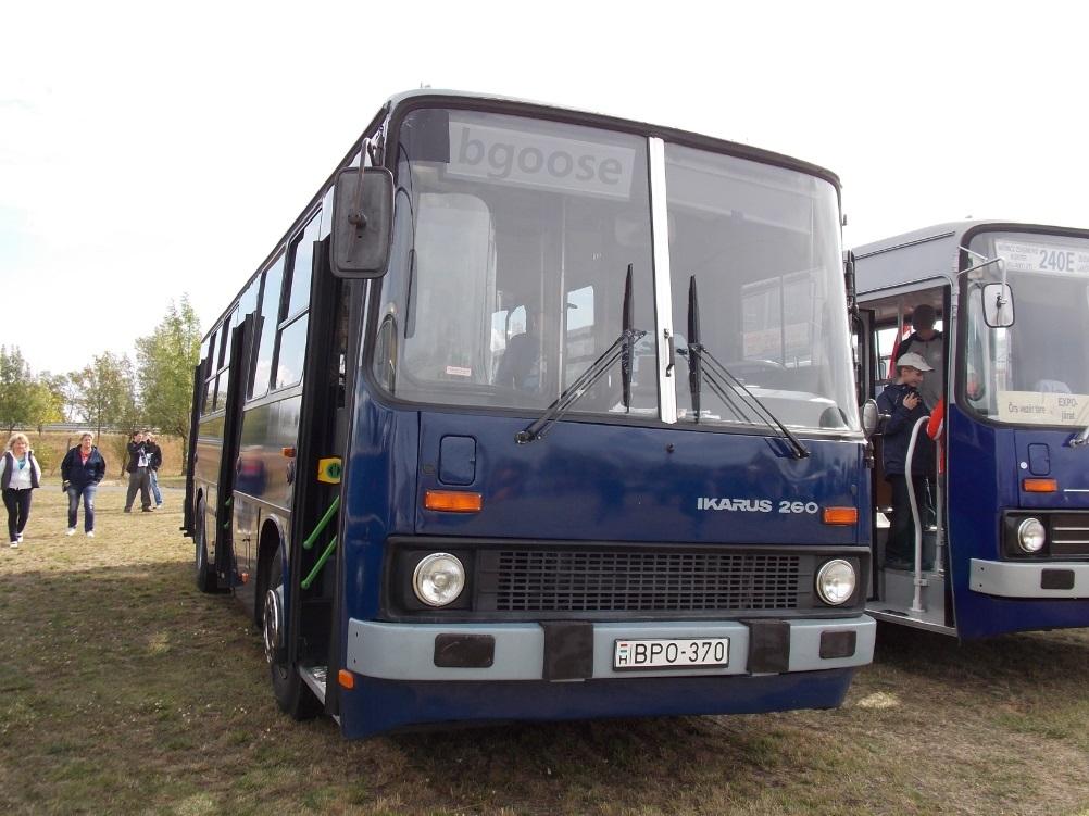 Hungary, Ikarus 260.46 # 03-70; Hungary — VI. Nemzetközi Ikarus, Csepel és Veteránjármű Találkozó, Polgár (2013)