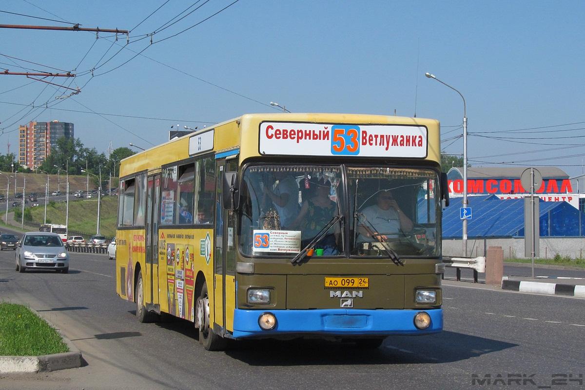 Krasnoyarsk region, MAN SL202 # АО 099 24